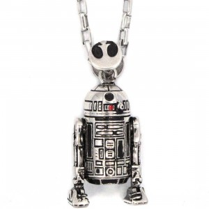 Han Cholo x Star Wars R2D2 Pendant Necklace (silver)