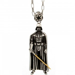 Han Cholo x Star Wars Darth Vader Pendant Necklace (silver)