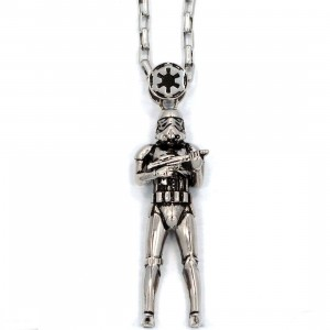 Han Cholo x Star Wars Stormtrooper Pendant Necklace (silver)