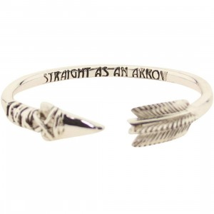 Han Cholo Arrow Bangle Bracelet (silver)