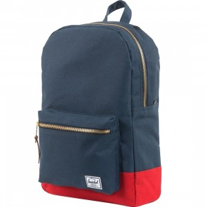 Herschel Supply Co Settlement Backpack (navy / red)