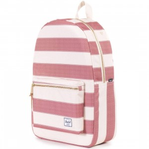 Herschel Supply Co Settlement Backpack - Poly (white / natural fouta)