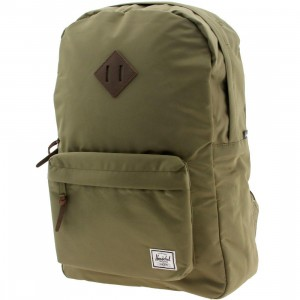 Herschel Supply Co Heritage Nylon Backpack (green / fern)