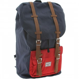 Herschel Supply Co Little America Backpack (navy / red)