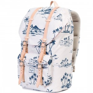 Herschel Supply Co Little America Backpack - Sun Up (white / blue)