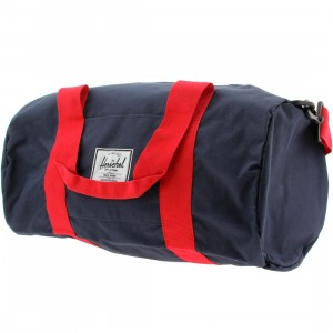 Herschel Supply Co Sutton Mid Volume Duffel Bag (navy / red)