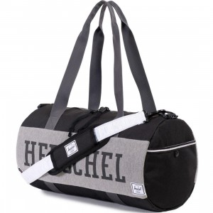 Herschel Supply Co Sutton Duffle Bag - Fleece (black / gray)