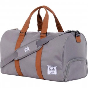 Herschel Supply Co Novel Duffel Bag (grey / tan)
