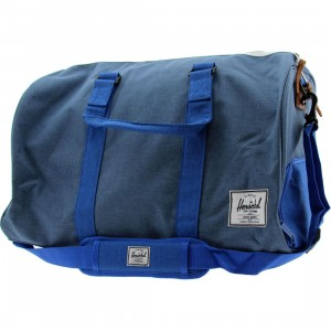 Herschel Supply Co Novel Duffle Bag (blue / cobalt crosshatch)