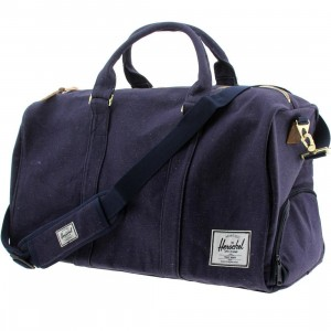 Herschel Supply Co Novel Duffel Bag (navy / indigo denim)