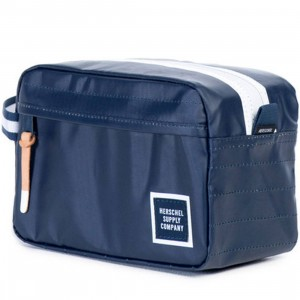 Herschel Supply Co Chapter Travel Kit (navy / dress blue polycoat)