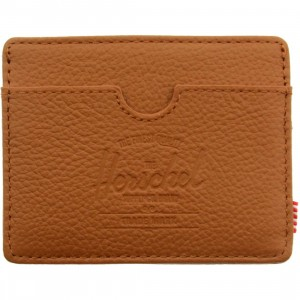 Herschel supply co Charlie Leather Wallet (tan / pebbled leather)