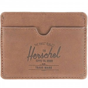 Herschel Supply Co Charlie Leather Wallet (brown)