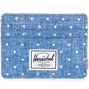 Herschel Supply Co Charlie Wallet (blue / white)