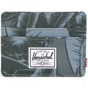 Herschel Supply Co Charlie Wallet (green / jungle)
