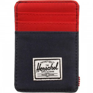 Herschel Supply Co Raven Cardholder (navy / red)
