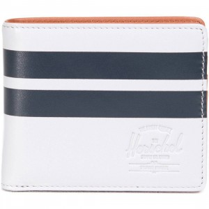 Herschel Supply Co Hank Leather Wallet - Offset (gray / lunar)