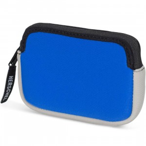 Herschel Supply Co Oxford Neoprene Pouch (blue / gray)