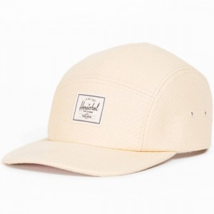 Herschel Supply Co Glendale Cap (white / natural straw)