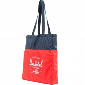 Herschel Supply Co Packable Travel Tote (navy / red)