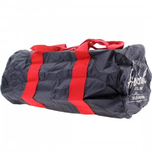 Herschel Supply Co Packable Duffel Bag (navy / red)