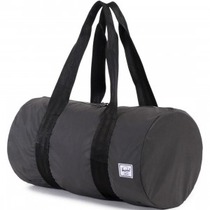 Herschel Supply Co Packable Duffel Bag (black / reflective)