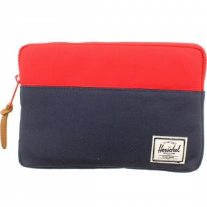 Herschel Supply Co Anchor Sleeve For iPad Mini (navy / red)