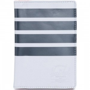 Herschel Supply Co Raynor Leather Wallet - Offset (gray / lunar)