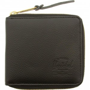 Herschel Supply Co Walt Leather Wallet (black)