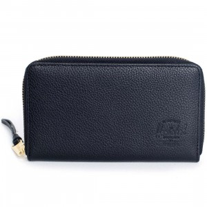 Herschel Supply Co Thomas Leather Wallet (black)