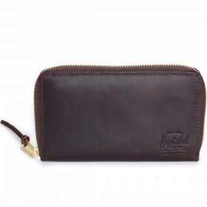 Herschel Supply Co Thomas Leather Wallet (brown / nubuck)