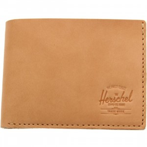 Herschel Supply Co Miles Premium Leather Wallet (tan / natural)