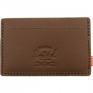 Herschel Supply Co Felix Premium Leather Wallet (brown / saddle)
