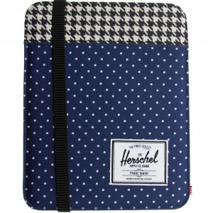 Herschel Supply Co Cypress Sleeve For iPad Air (navy / polka dot / houndstooth)