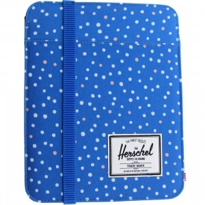 Herschel Supply Co Cypress Sleeve For iPad Air (blue / cobalt polka dot)