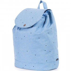 Herschel Supply Co Reid Mid Volume Backpack (blue / scattered chambray)