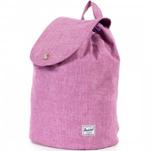 Herschel Supply Co Ware Backpack (pink / crosshatch fuschia)