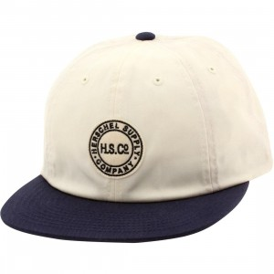 Herschel Supply Co Glenwood Cotton Cap (white / natural / navy)