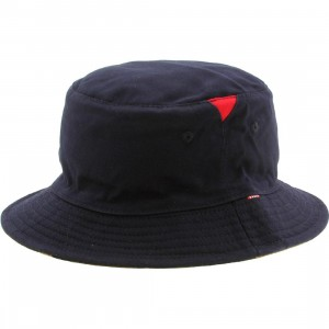 Herschel Supply Co Lake Bucket Hat (navy / camo)