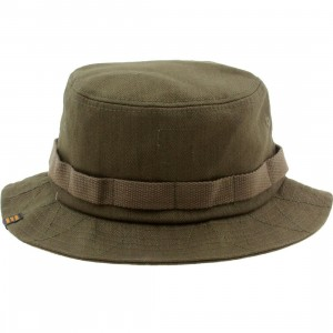 Herschel Supply Co Lake Bucket Hat (green / army twill)