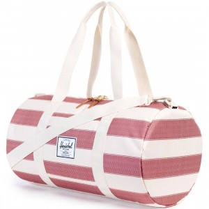 Herschel Supply Co Sutton Mid Duffle Bag (white / nat fouta)
