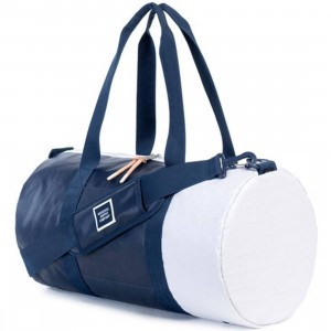 Herschel Supply Co Sutton Mid Volume Duffel Bag (navy / dress blue polycoat)