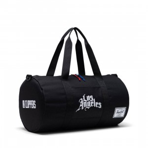 Herschel Supply Co x NBA Los Angeles Clippers Sutton Mid 600 Duffel Bag (black)