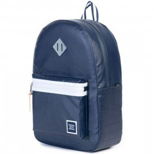Herschel Supply Co Ruskin Backpack (navy / polycoat navy)