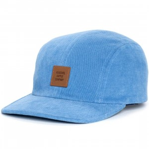 Herschel Supply Co Owen Cotton Cap (blue / denim)