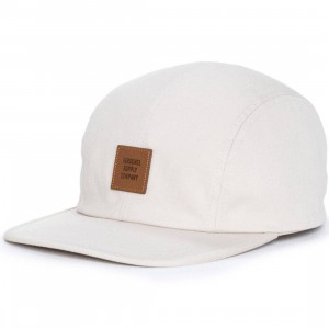 Herschel Supply Co Owen Cotton Cap (gray / sand)