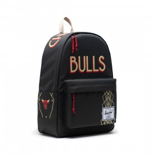 Herschel Supply Co x NBA Chicago Bulls Classic XL 600D Bag (black)