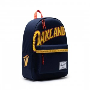 Herschel Supply Co x NBA Golden State Warriors Classic XL 600D Bag (navy)