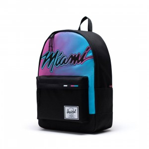 Herschel Supply Co x NBA Miami Heat Classic XL 600D Bag (black)