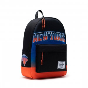 Herschel Supply Co x NBA New York Knicks Classic XL 600D Bag (black / mt)